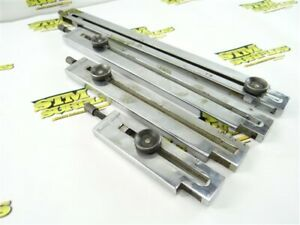 """SET OF 4 DOALL GAGE BLOCK ACCESSORY CLAMPS 3"""" 6"""" 10"""" & 12"""" CAPACITY"""