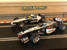 Scalextric F1 Williams FW 23 & Mclaren MP4-16 Both Fully Serviced & New Braids