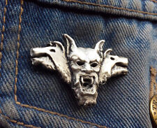 Count Vlad Dracula Vampire Pewter Pin Badge