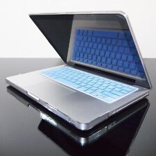 BLUE Silicone Keyboard Cover Skin for Macbook Pro 13 15