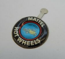 Redline Hotwheels Button Badge Metal Hong Kong Hot Heap R17289
