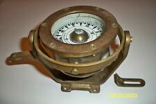 Ship Compass Coubro & Scrutton Ltd London Marked 1940 Nautical No reserve