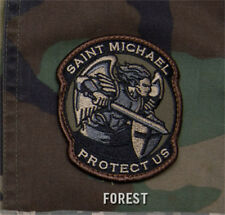 MilSpec Modern ST SAINT MICHAEL PROTECT Military Army Morale Patch FOREST