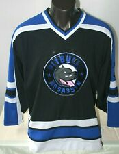 Hockey Jersey Pitbull Tha Ridaz Gear Assassyn Men's sz XXL Blue Black White
