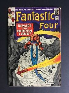 FANTASTIC FOUR #47 (1966) 1st APPEARANCE MAXIMUS THE MAD MARVEL COMICS INHUMANS