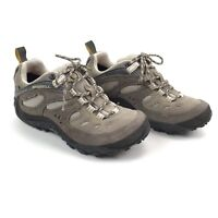 Merrell Womens Gore-Tex US 8 Continuum Leather Hiking Shoe Camping Trekking Brwn