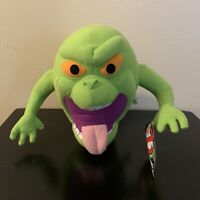 """Toy Factory 2011 Ghost Busters Slimer Plush 10"""" Tall Stuffed Toy Animal"""