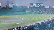 RIVALRY AT FENWAY GAME 3 ALCS PLAYOFFS PHOTO PANORAMIC