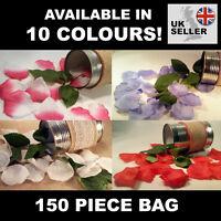 Artificial Silk Rose Petals - 150 Pieces