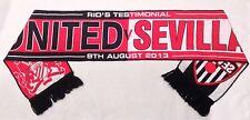 Rio Ferdinand 2013 Testimonial Scarf Manchester United v Sevilla