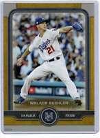 Walker Buehler 2019 Topps Museum 5x7 Gold #51 /10 Dodgers