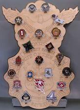 * Custom * USAF SF/SP 21-Challenge Coin display / holder - wall mount