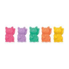 Winkende Glückskatze Magnete | 5 Stück in verschiedenen Farben