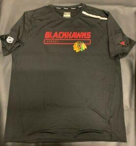 """Chicago Blackhawks - ** Authentic Pro """"Fanatics"""" NHL Short Sleeve Shirt _**NEW*!"""