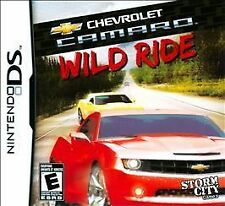 Nintendo DS CHEVROLET CAMARO WILD RIDE GAME - LIKE NEW COMES WITH ALL MANUALS
