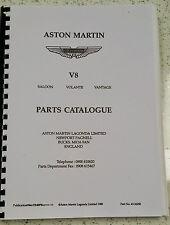 ASTON MARTIN V8 SALOON VOLANTE VANTAGE CHASSIS 12032 TO 15001 ONWARDS PARTS
