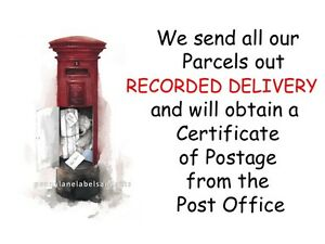 RED POST BOX - Personalised Sticky Address Labels - EBAY Parcel Stickers, Craft