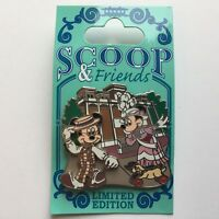 Scoop and Friends - Scoop and Hildegard Mickey Minnie LE 1000 Disney Pin 68107