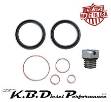 6.6l 01-16 GM Fuel Filter Head Rebuild Kit w/ Bleeder Screw LB7 LLY LBZ LMM LML