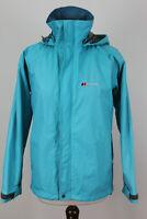 BERGHAUS Gore-Tex Blue Windbreaker Jacket size Uk 8