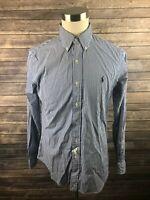 New Ralph Lauren Mens Custom Fit Long Sleeve Button Front Shirt Size Medium