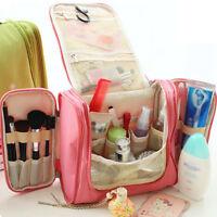 Waterproof Wash Bag Toiletry Cosmetic Travel MakeUp Hanging Folding Organizer