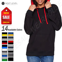 NEW Next Level Unisex Lightweight Pullover French Terry XS-XL Hoodie R-9301