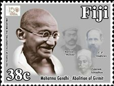 FIJI 2018 150TH BIRTH ANNIVERSARY OF MAHATMA GANDHI STAMP 3 Value MNH