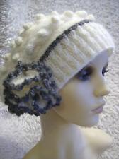 Snowberry Cloche Ladies Hat - Easy Knitting Pattern