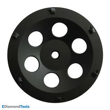 """7"""" PCD Grinding Cup Wheel Epoxy Glue Mastic Paint Removal 6 Segments"""