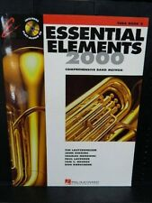ESSENTIAL ELEMENTS 2000 Music Band Book TUBA  BOOK 2