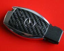 #6 MB Mercedes Benz A B C E G Klasse Schlüsselfolie Carbon Aufkleber Key AMG V8