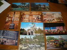 lot of Walt Disney World postcards Upjohn new & used