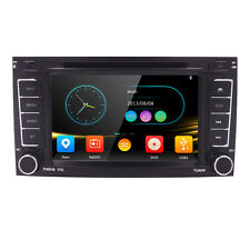 VW Touareg 07-09 2 Din In Dash GPS Navigation Radio Bluetooth CD/DVD Player