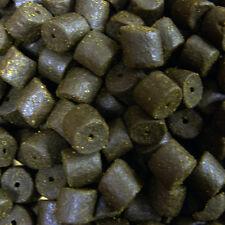 28mm Pre Drilled Halibut Pellets 1kg, Carp Fishing, Catfish, Sturgeon, Black