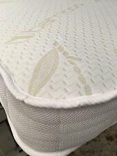 "Bamboo Memory Foam Spring Mattress 2ft6 3ft 4ft 4ft6"" 5ft size beds cabin, bunk"