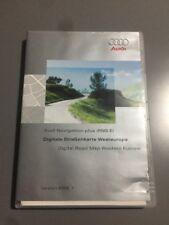 Genuine Audi Sat Nav Navegación Plus RNS-E DVD Europa occidental Reino Unido Mapa RNS E 2006