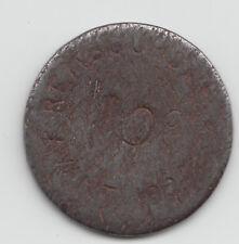 WWI France Monnaie de necessite jeton token - Bayonne 1917 - 10 Centimes 26