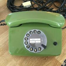 Bundespost Telefon grün +++ FeAp 792-1 J 1289 +++ September 1983 +++ Wählscheibe