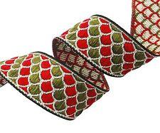 Woven Jacquard Trim Ribbon Decorative Crafting 3.0 Cm Wide Ribbon By The Yard