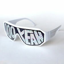 Macho Man Randy Savage Ooh Yeah White See Through Party Sunglasses