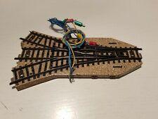 Elektrische Dreiwegweiche 2x24° 17' MÄRKLIN HO M-Gleis #5214 gebraucht