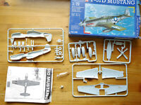 Jagdflugzeug Fighter Plane P-51 D Mustang WWII, Revell #04148 in 1:72 boxed!