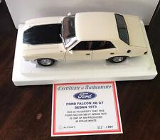 1/18 AUTOart Biante 1973 Ford Falcon XB GT 351 Sedan Polar White #72797