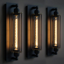 Antik Stil Wandleuchte Vintage Industrie Käfig Wandlampe Flurlampe Deckenleuchte