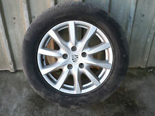 PORSCHE CAYENNE 958 18 INCH S11 ALLOY WHEELS WITH CONTINENTAL TYRES 7P5601025T