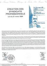 DOCUMENT PHILATÉLIQUE - YT 2305 - 1er JOUR 1984