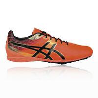 Asics Mens Cosmoracer LD Running Spikes Traction Black Orange Trainers