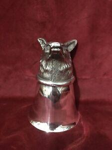 Silver Plated ?, Fox Head, Stirrup Cup