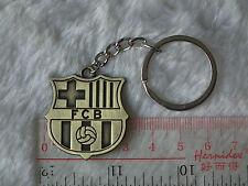kiTki spain Barcelona metal badge football soccer keychain key chain bronze ring
